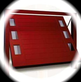 Porte Basculanti in legno coibentati